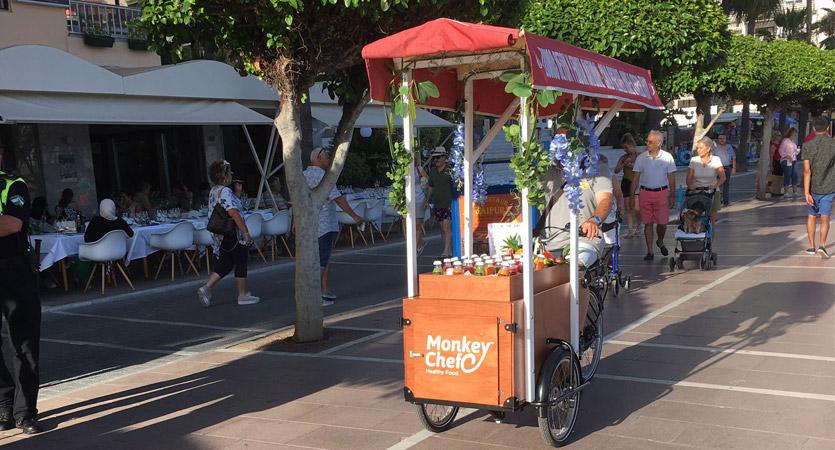 Babboe Pro food truck bike
