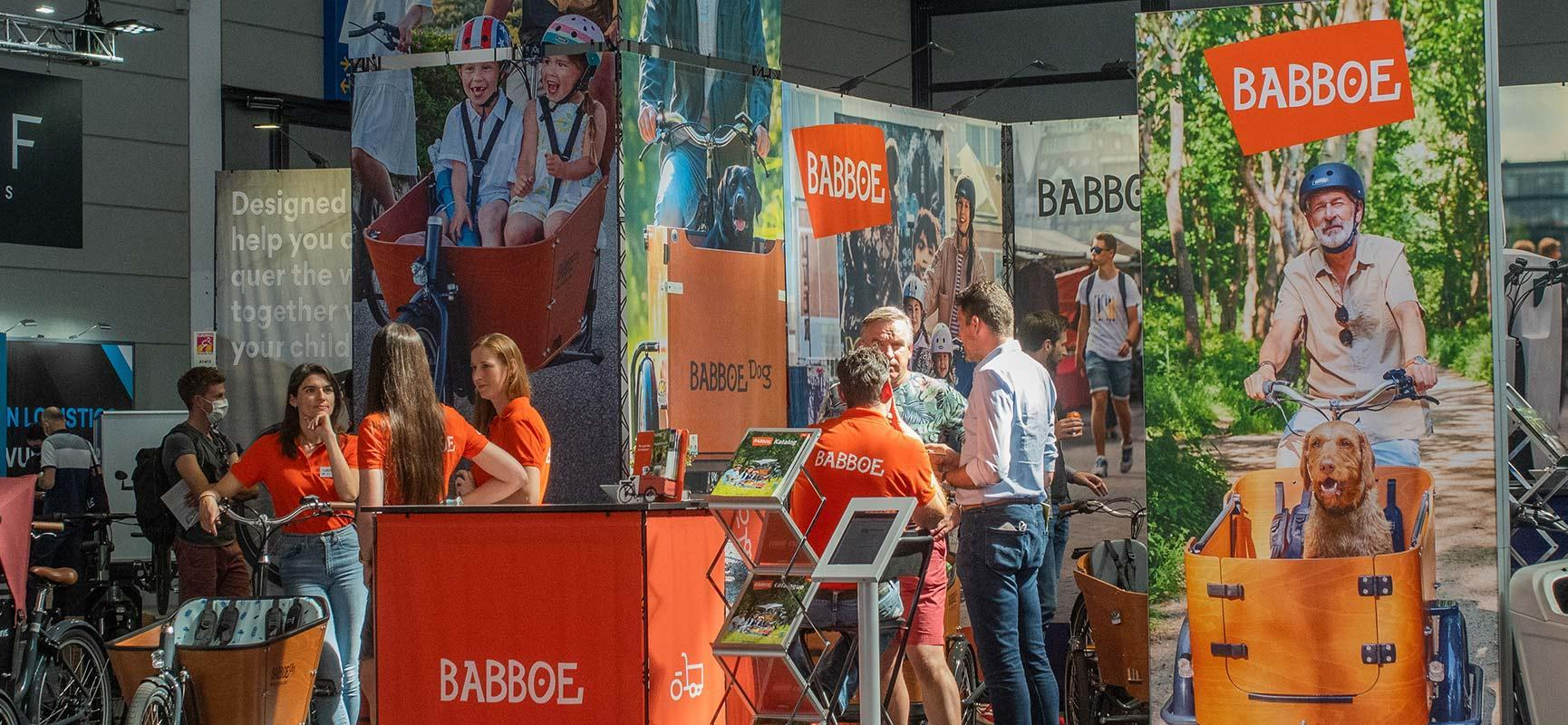 Babboe at Eurobike, the biggest bicycle trade show in Europe