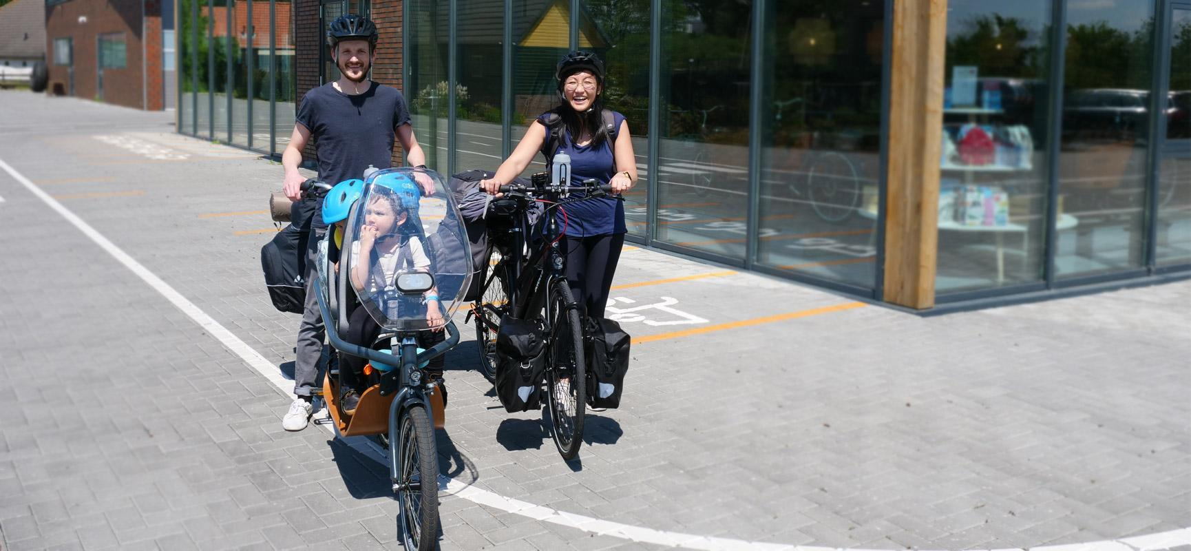 Cargo bike holiday with Babboe