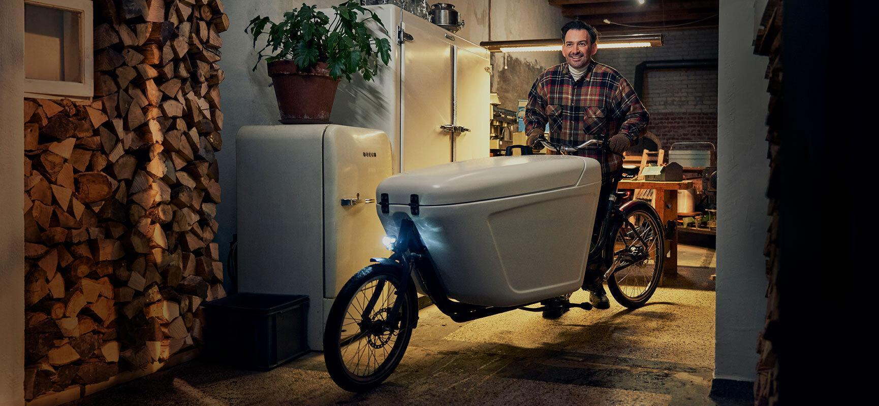Choose the perfect delivery bike