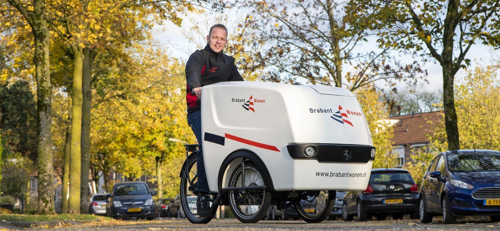 The BrabantWonen electric service bike
