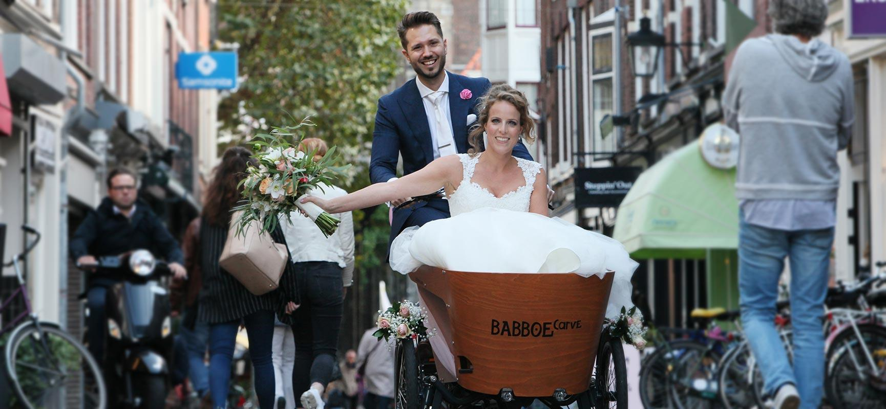A cargo bike wedding? It's possible!