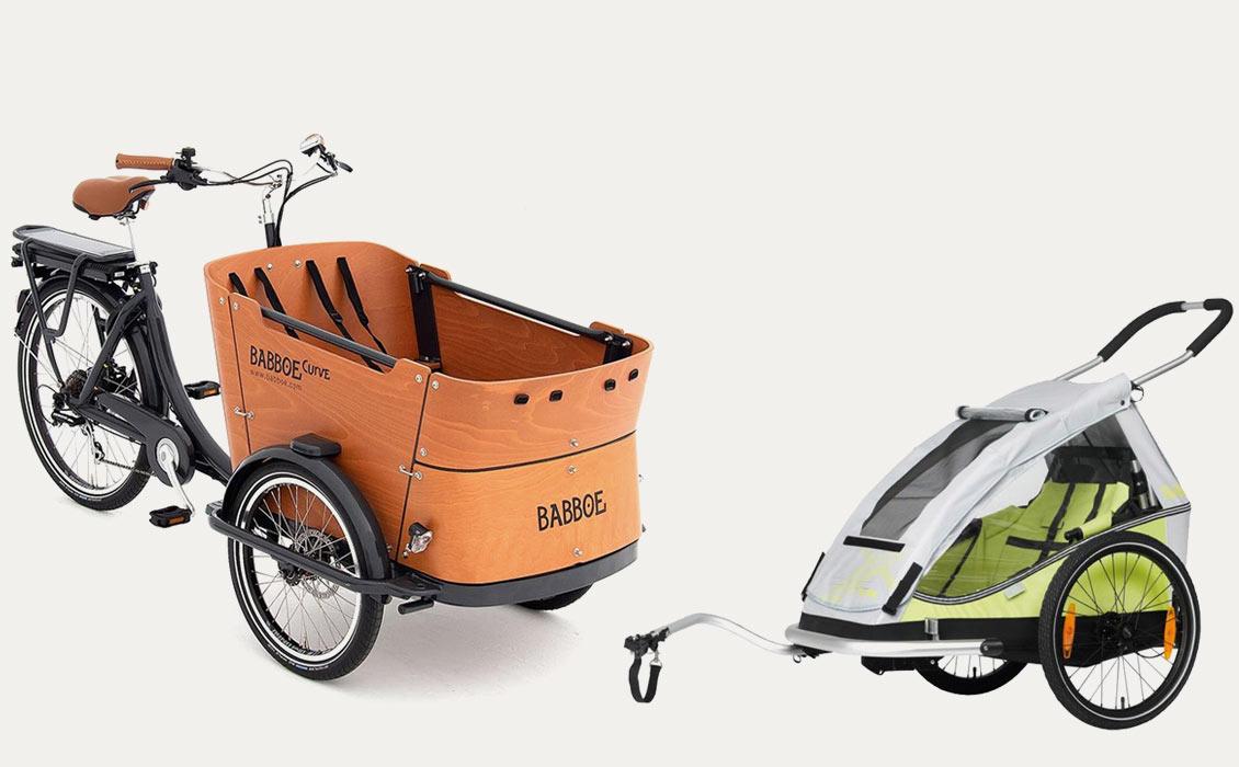 Bike trailer or cargo bike