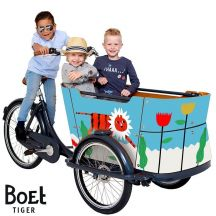Babboe BOET cargo bike stickers Curve