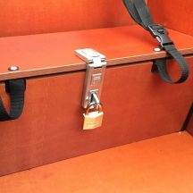 Babboe closure + lock storage bench