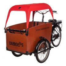 Babboe sunshade red