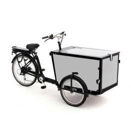 Babboe cargo bike stickers Pro Trike black - 3 sides + lid