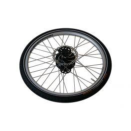 Babboe rear wheel QWIC incl. parts