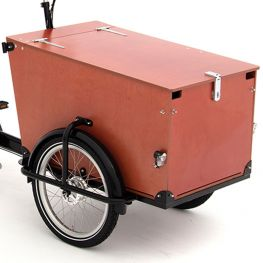 Babboe Pro wood panels Trike