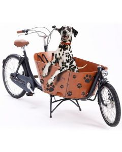 Babboe cargo bike stickers dog paws