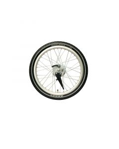 Babboe front wheel SA silver (1 piece)