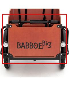 Babboe front panel