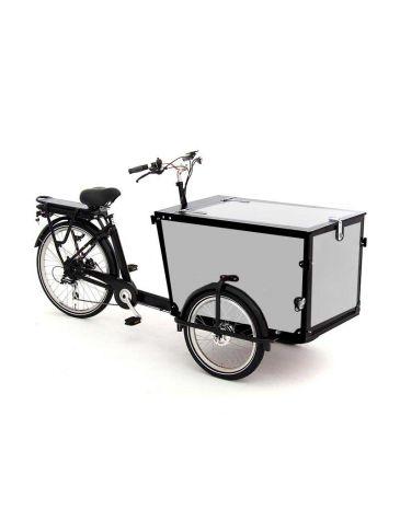 Babboe Pro cargo bike stickers Trike black 3 sides + lid