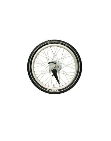 Sturmy Archer front wheel silver