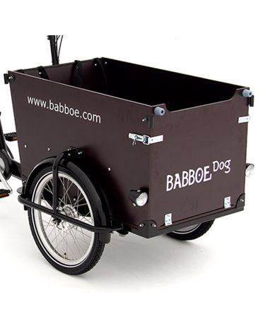 Babboe wood package Dog GWA dark brown