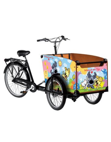 Babboe cargo bike stickers Woezel and Pip classic