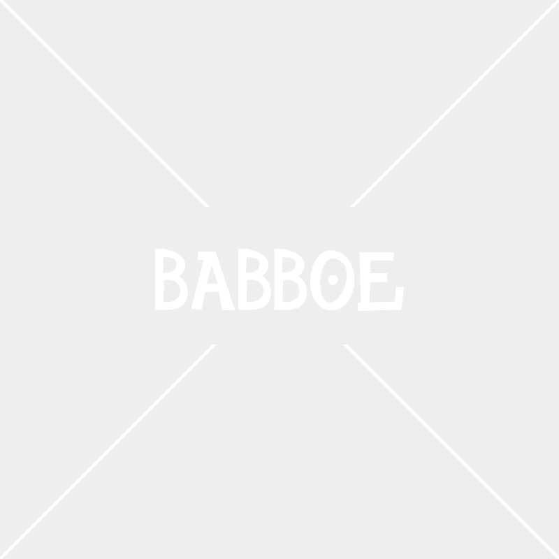 Wood inlay rear carrier | Babboe City-E